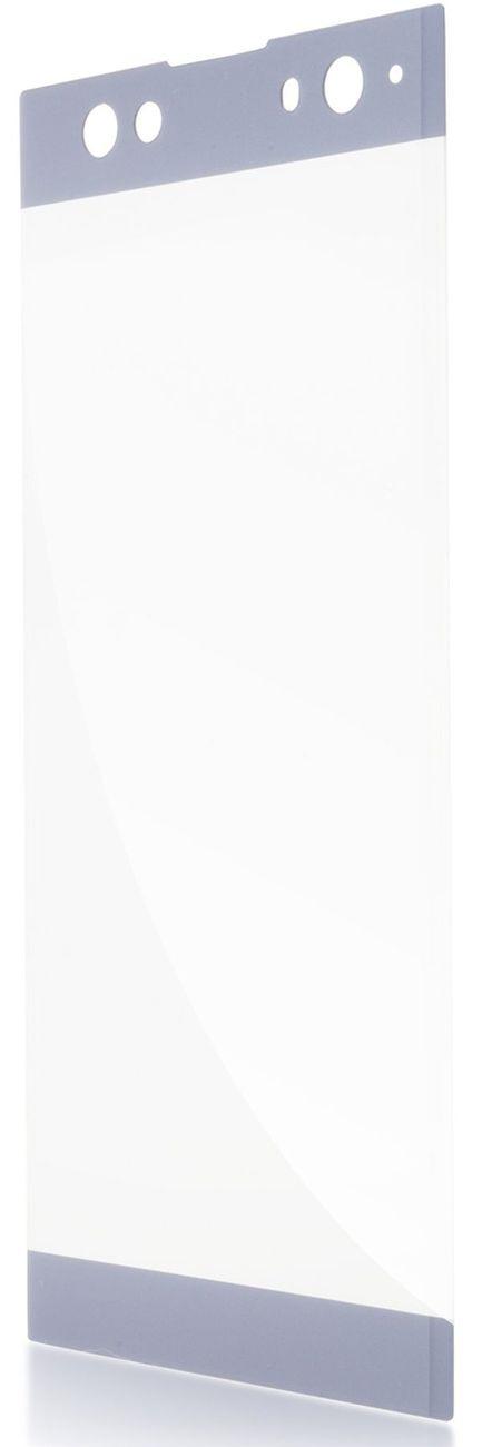 Защитное стекло Brosco 3D для Sony Xperia XA2 Ultra, синий