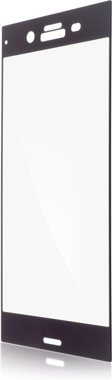 Защитное стекло Brosco 2D для Sony Xperia XZ1, черный