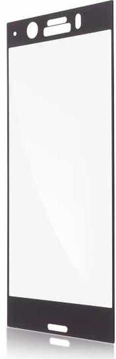 Защитное стекло Brosco 2D для Sony Xperia XZ1 Compact, черный