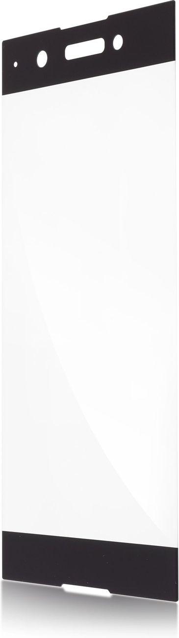 Защитное стекло Brosco 2D для Sony Xperia XA1 Plus, черный защитное стекло для sony g3112 xperia xa1 brosco 3d на весь экран с золотистой рамкой