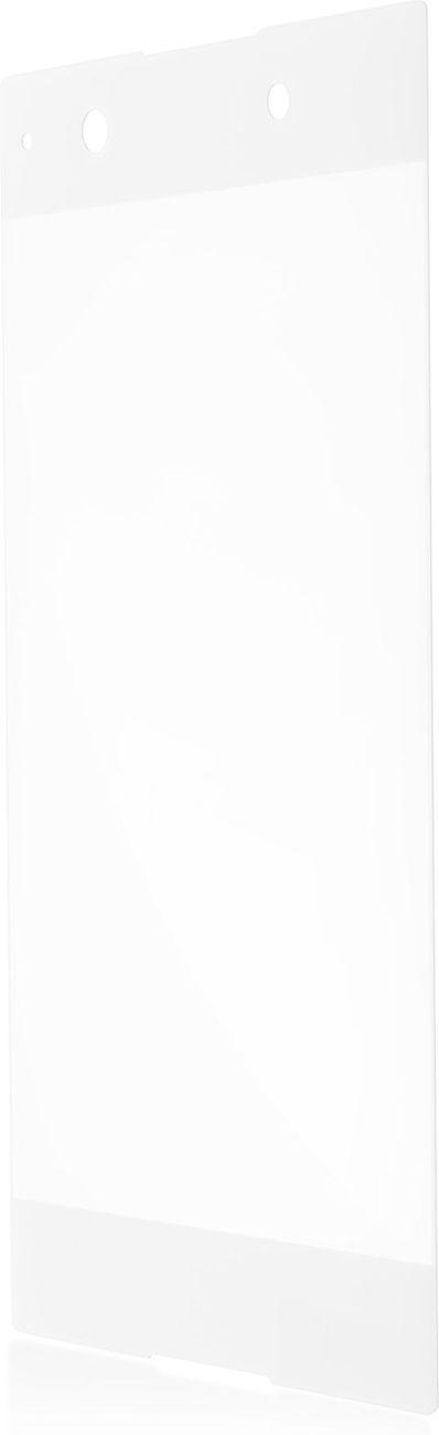 Защитное стекло Brosco 3D для Sony Xperia XA1, белый защитное стекло для sony g3112 xperia xa1 brosco 3d на весь экран с золотистой рамкой