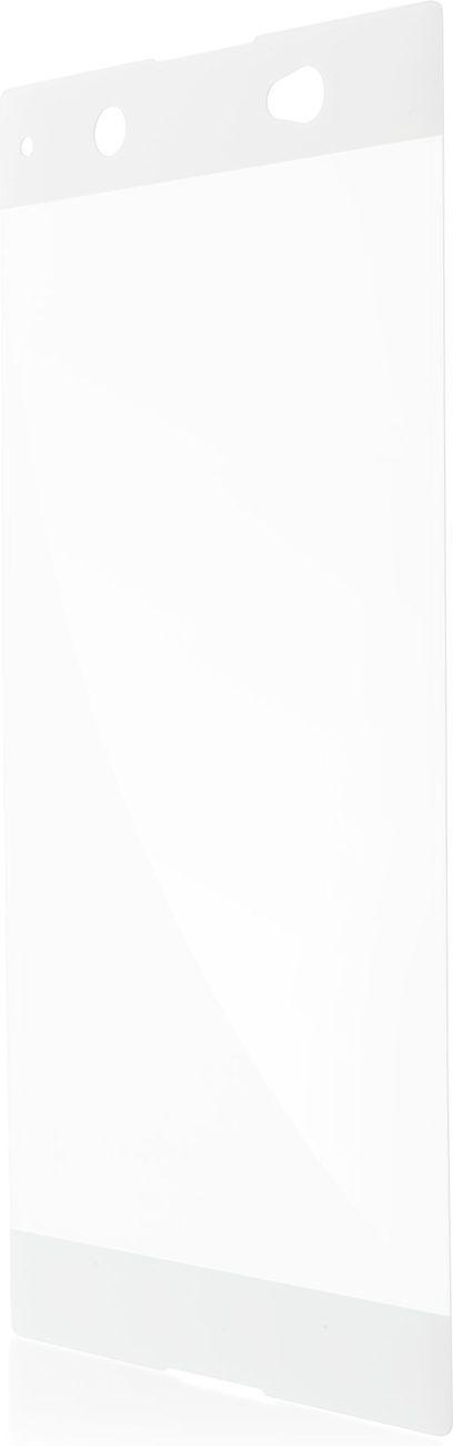 Защитное стекло Brosco 3D для Sony Xperia XA1 Ultra, белый защитное стекло для sony g3112 xperia xa1 brosco 3d на весь экран с золотистой рамкой