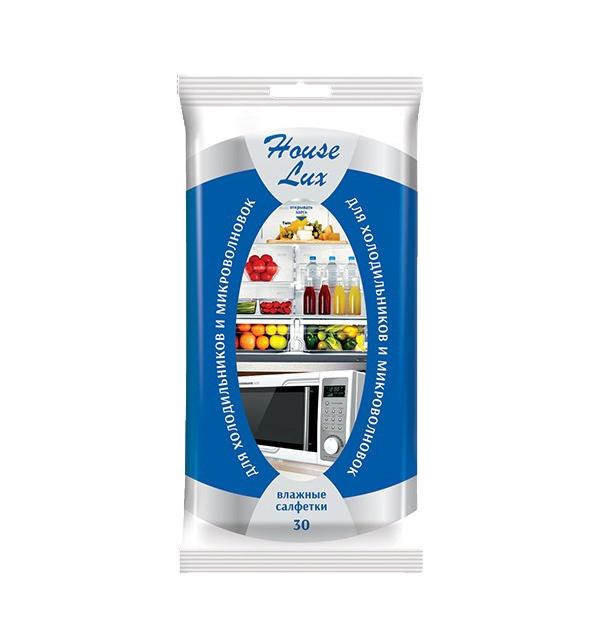 Салфетка HOUSE LUX 48152 house lux салфетки влажные для стекол и зеркал bigsize 30шт