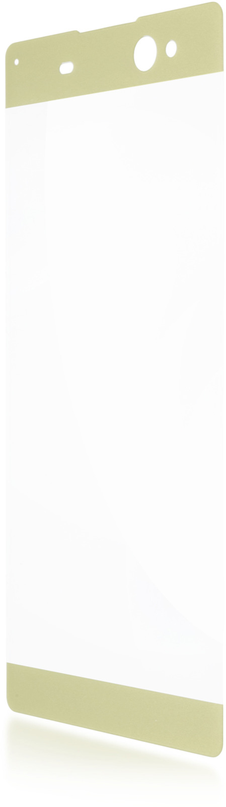 Защитное стекло Brosco 3D для Sony Xperia XA Ultra, золотой