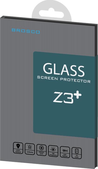 Защитное стекло Brosco для Sony Xperia Z3 Plus, прозрачный аксессуар защитное стекло sony xperia z3 z3 dual onext 40946