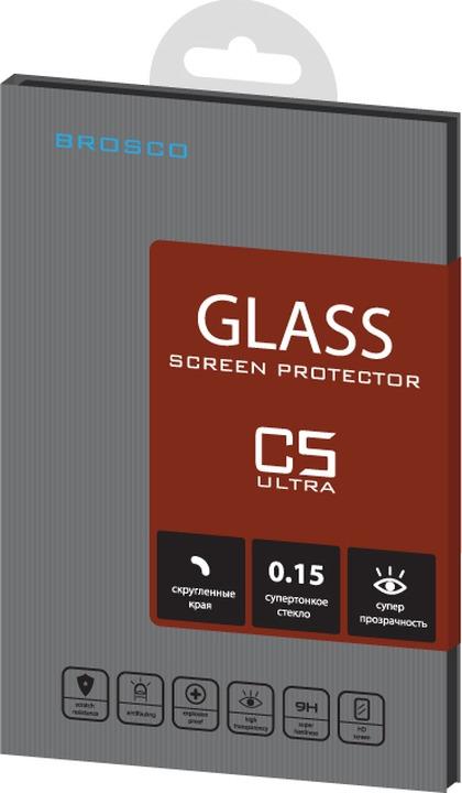 Защитное стекло Brosco Superslim для Sony Xperia C5 Ultra
