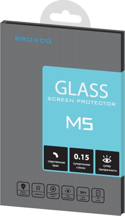 Защитное стекло Brosco Superslim для Sony Xperia M5 стоимость