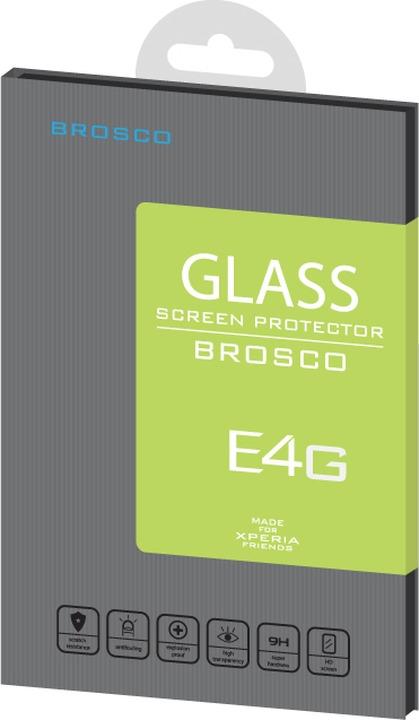 Защитное стекло Brosco для Sony Xperia E4G, прозрачный