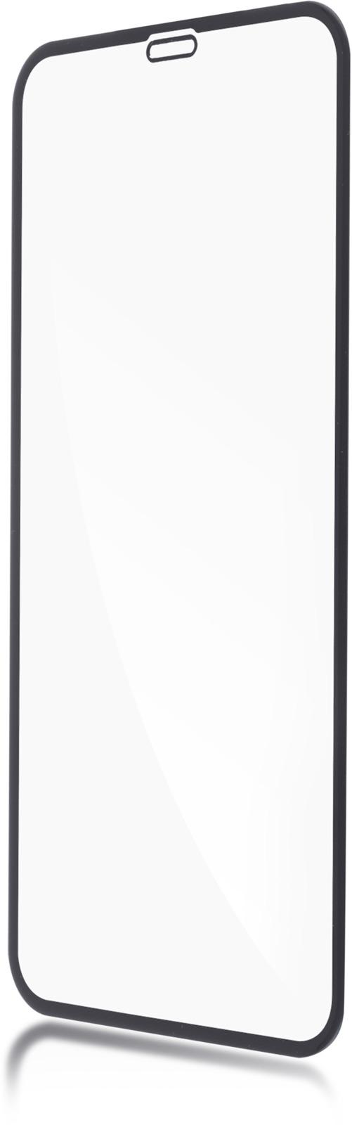 Защитное стекло Brosco 3D для Apple iPhone XR, черный защитное стекло для iphone xs brosco 3d изогнутое по форме дисплея с черной рамкой