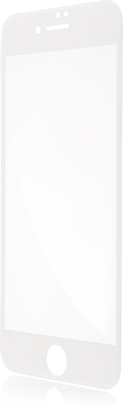 Защитное стекло Brosco 3D для Apple iPhone 7, белый