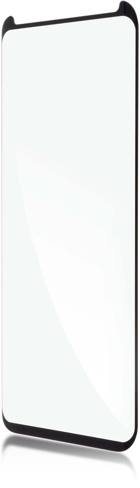Защитное стекло Brosco 3D полноприклеивающееся для Samsung Galaxy S9 Plus, черный защитное стекло для samsung galaxy s9 sm g960 onext 3d изогнутое по форме дисплея с черной рамкой