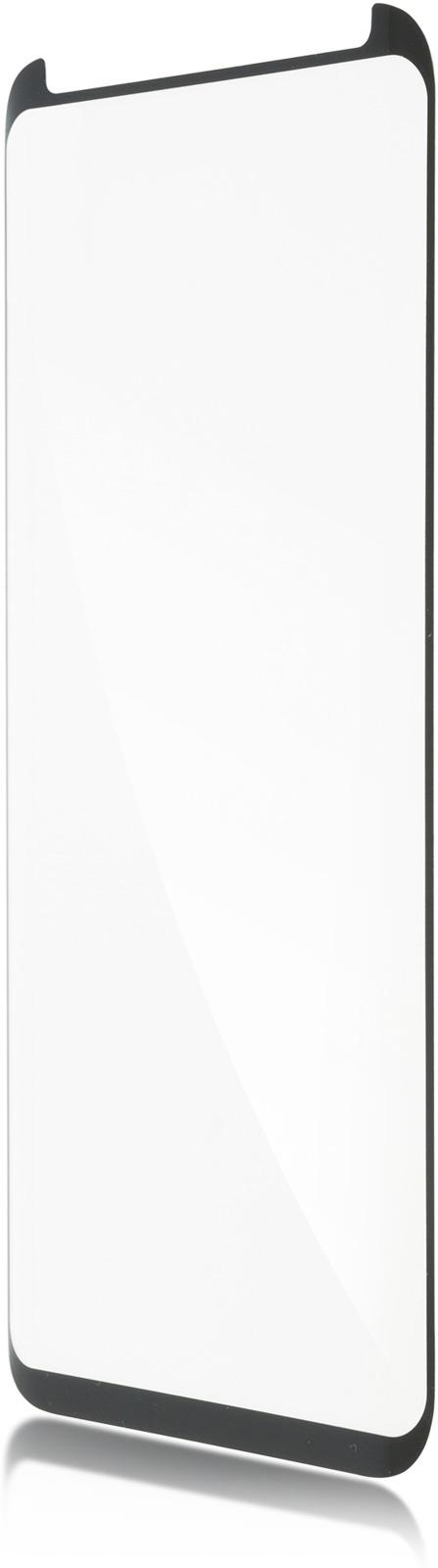 Защитное стекло Brosco 3D полноприклеивающееся для Samsung Galaxy S8, черный защитное стекло для samsung galaxy s8 sm g950 onext 3d изогнутое по форме дисплея с прозрачной рамкой
