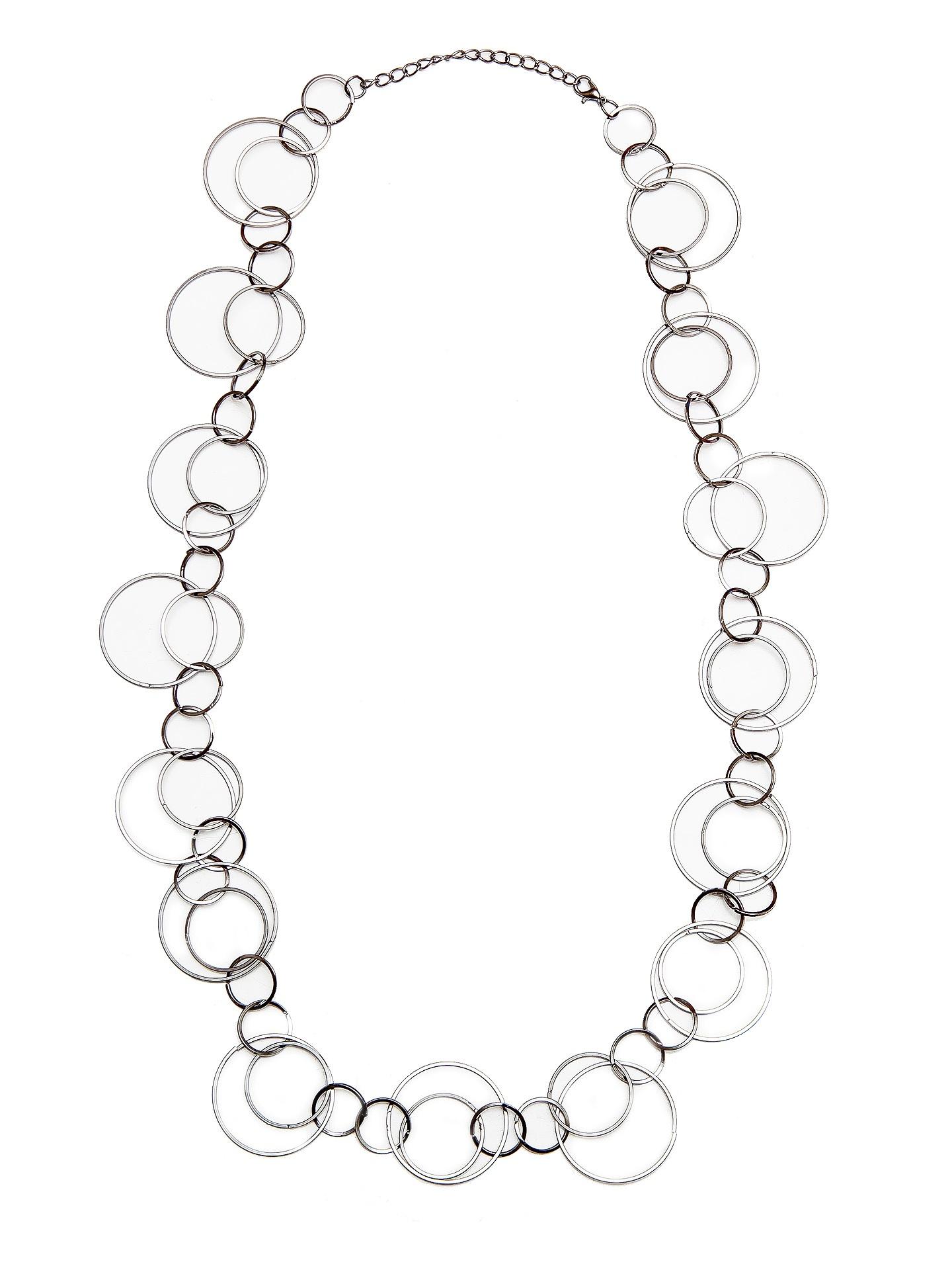 Колье/ожерелье бижутерное Evoize Melair KOL903021, серыйNC903021Размер 83 см * 3,5 см Состав: сплав на основе латуни