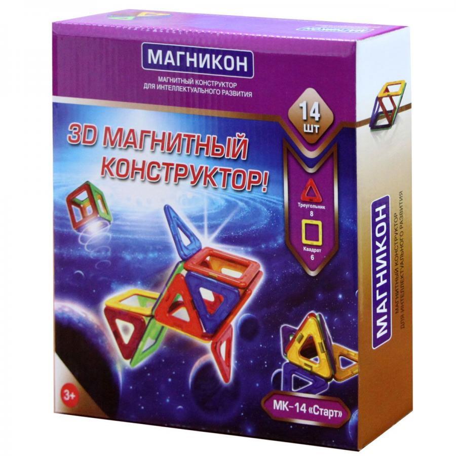 Магнитный конструктор МАГНИКОН MK-14 Новичок магникон mk 34
