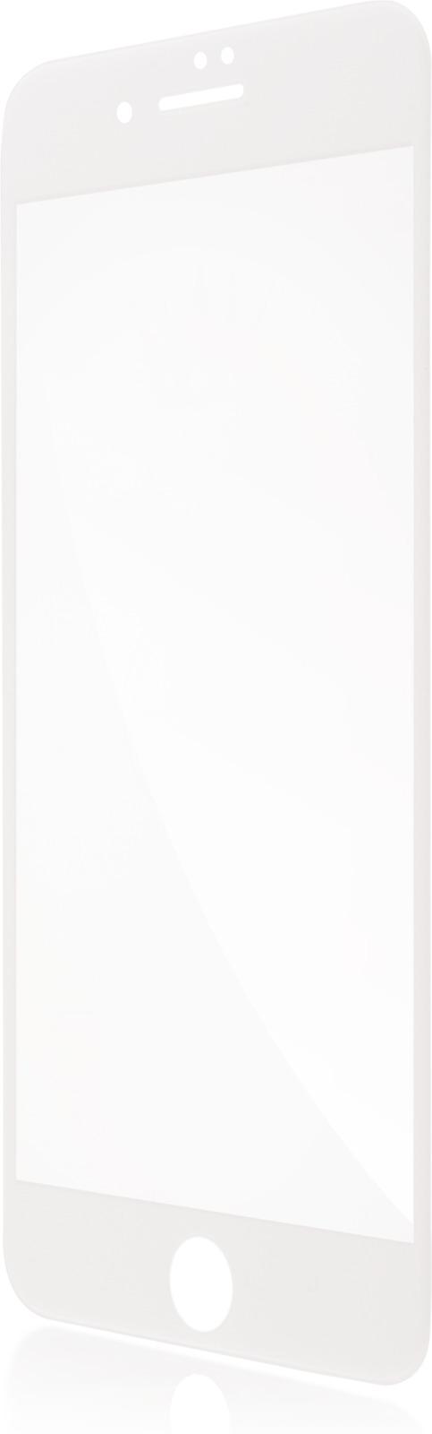 Защитное стекло Brosco 3D для Apple iPhone 7 Plus, белый