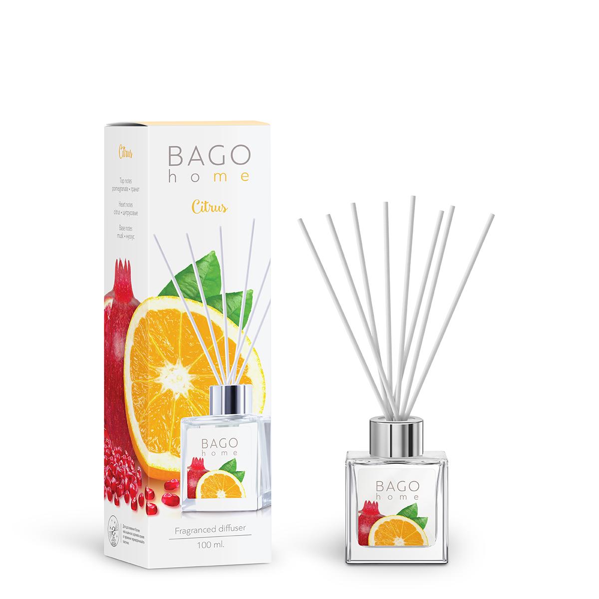 Ароматизатор интерьерный BAGO home Диффузор ароматический