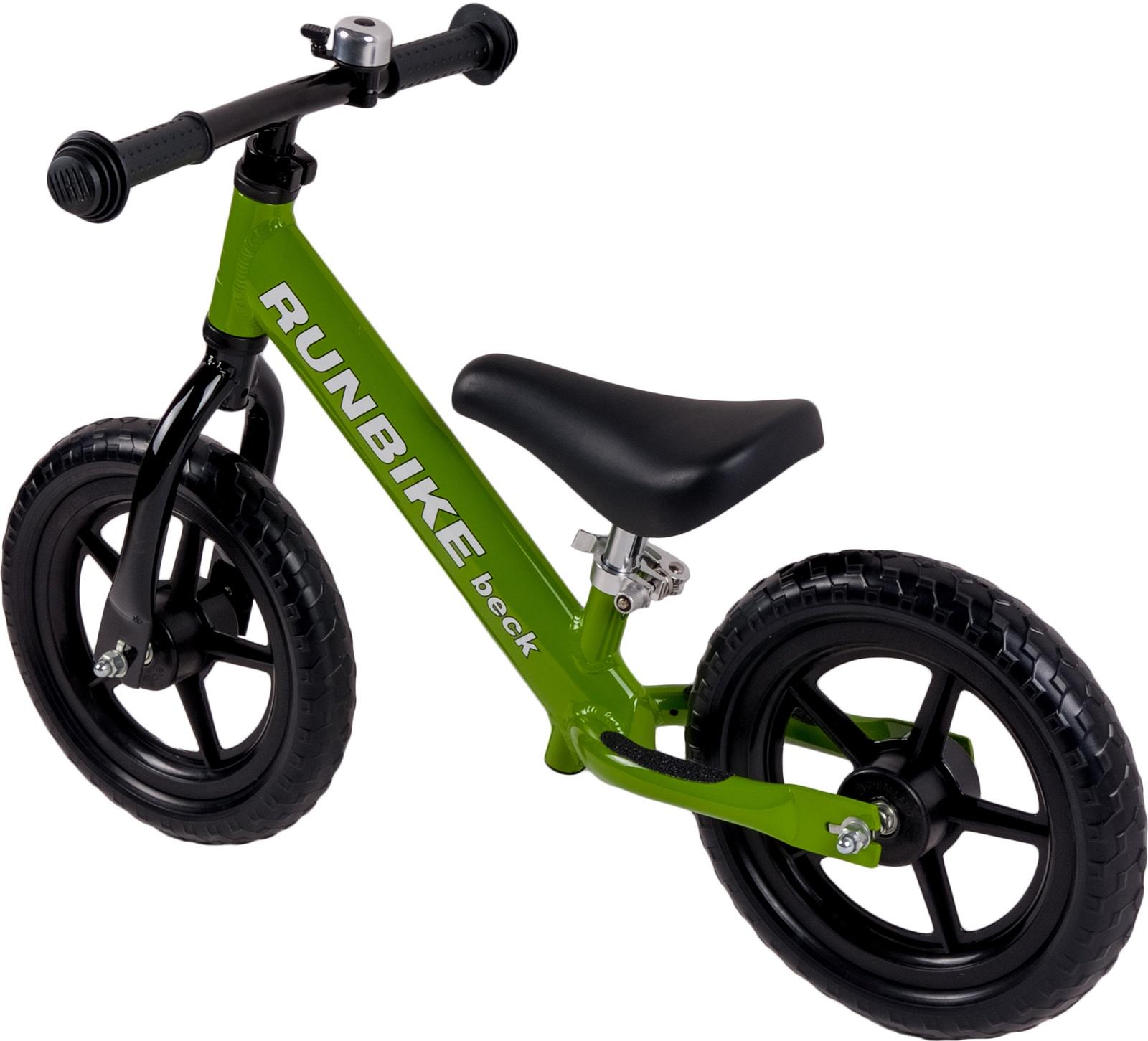 цена на Беговел Runbike beck ALX, зеленый