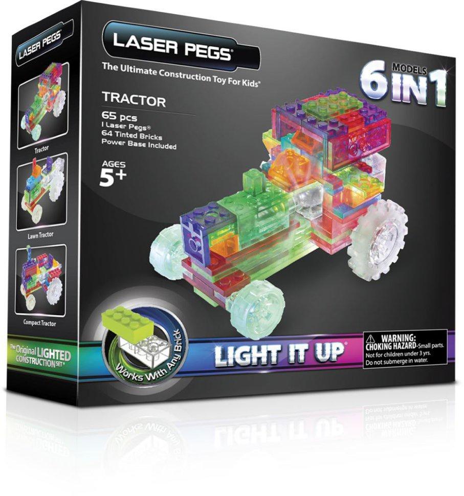 Пластиковый конструктор Laser pegs ZD120B с сенокоса