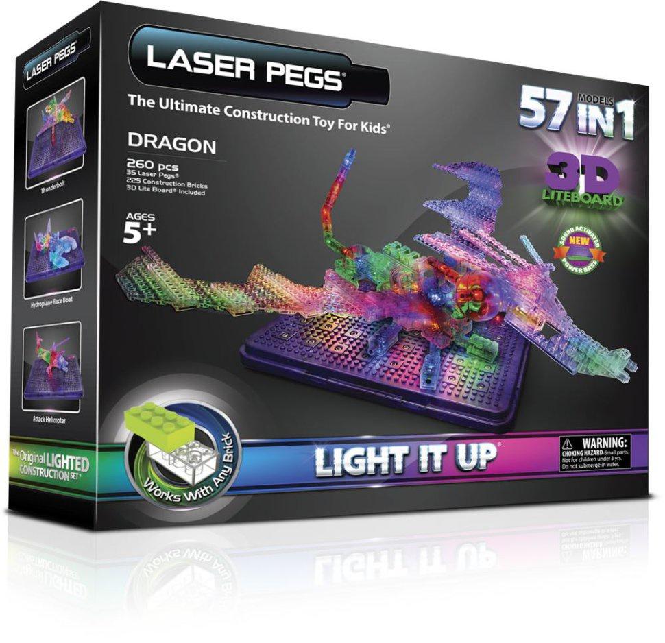 Пластиковый конструктор Laser pegs 1070 ciclop desktop laser 3d scanner