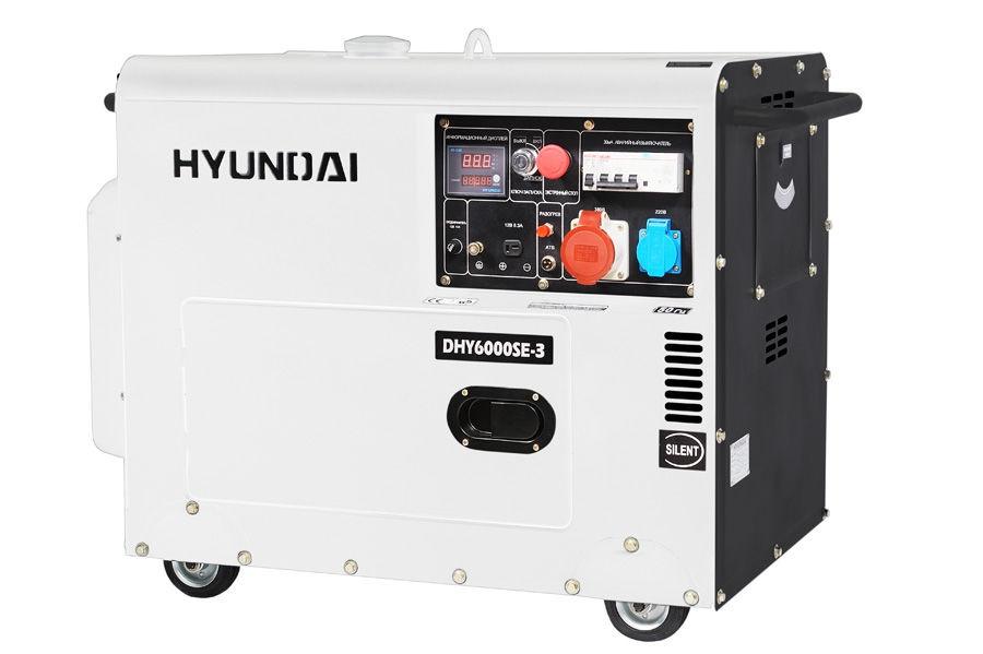 Генератор HYUNDAI DHY 6000SE-3 недорго, оригинальная цена