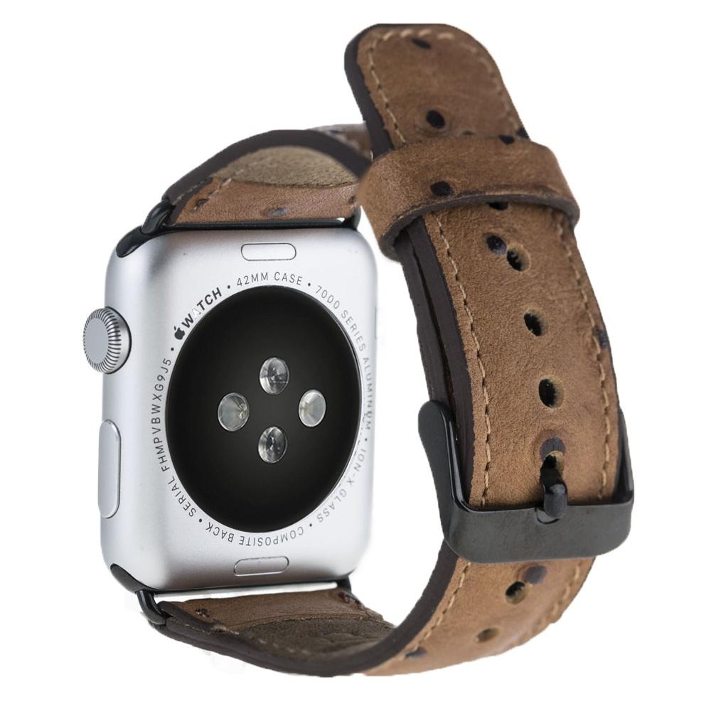 Ремешок для смарт-часов Burkley для Apple Watch 38/40 mm Classic, коричневый