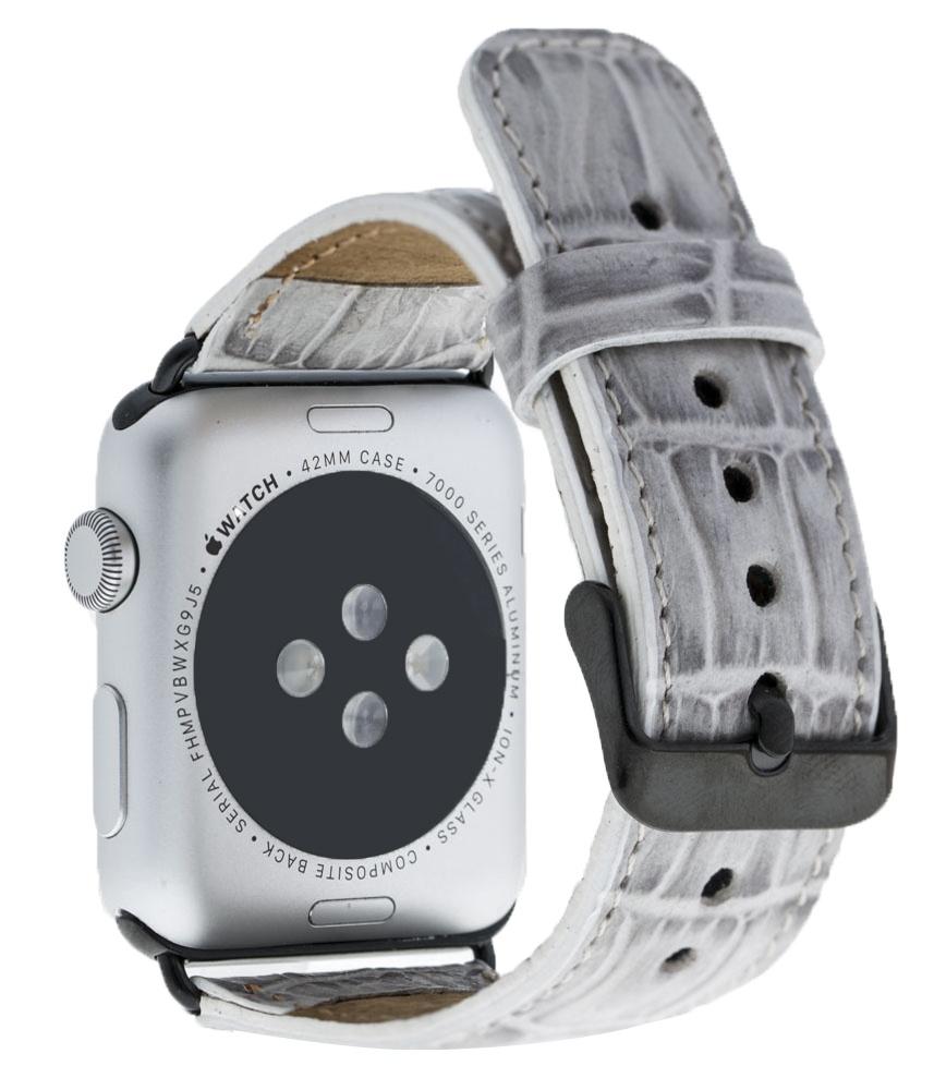 Ремешок для смарт-часов Burkley для Apple Watch 38/40 mm Classic, серый