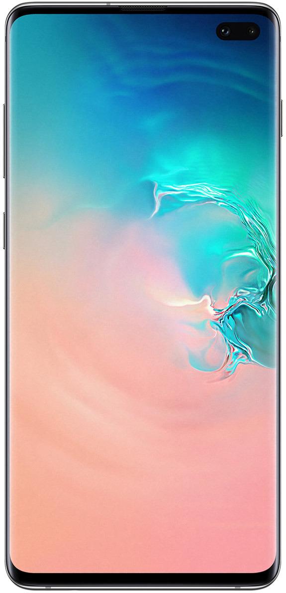 Смартфон Samsung Galaxy S10+ 128 GB, белый