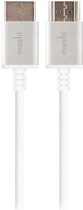 Кабель Moshi High Speed HDMI, 2 м, белый