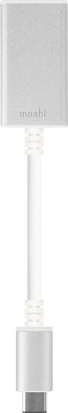 Адаптер Moshi USB-C to USB, серебристый