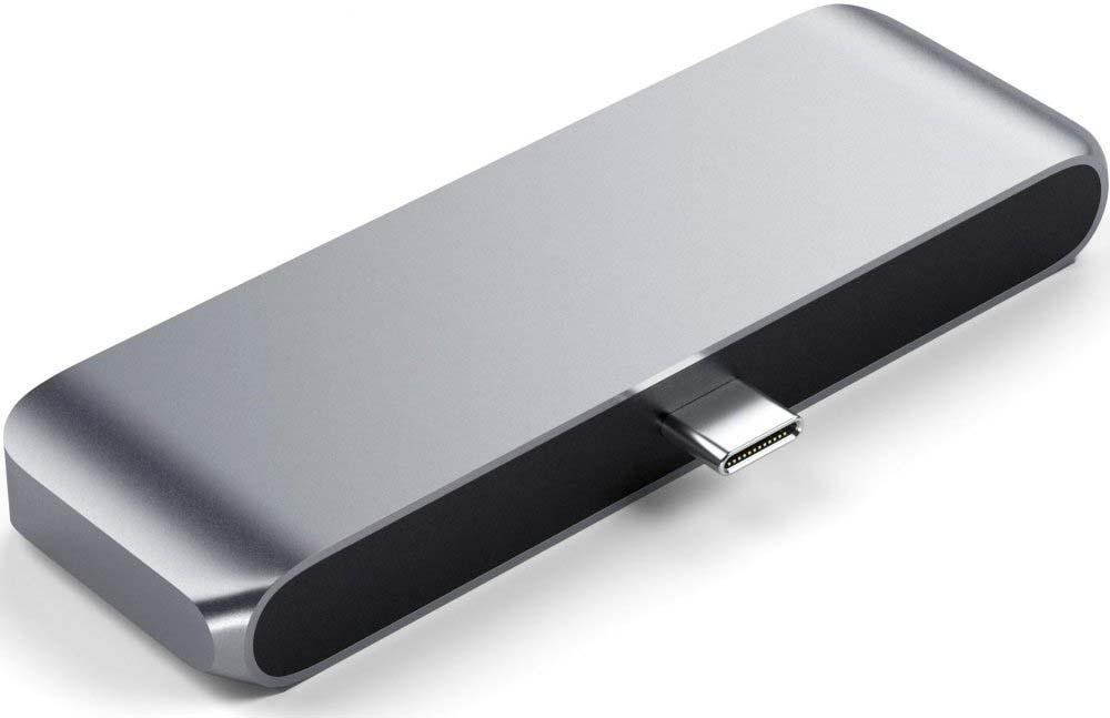 Адаптер Satechi Aluminum Type-C Mobile Pro Hub Adapter, серый