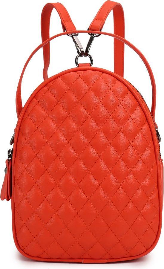 цена Рюкзак женский OrsOro, DS-9002/3, оранжевый онлайн в 2017 году