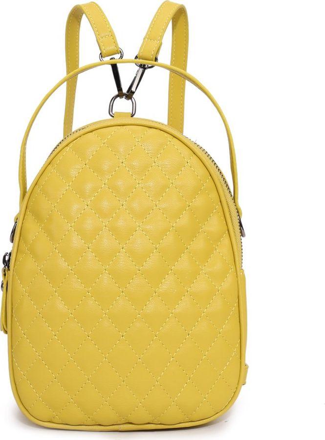 цена Рюкзак женский OrsOro, DS-9002/4, желтый онлайн в 2017 году