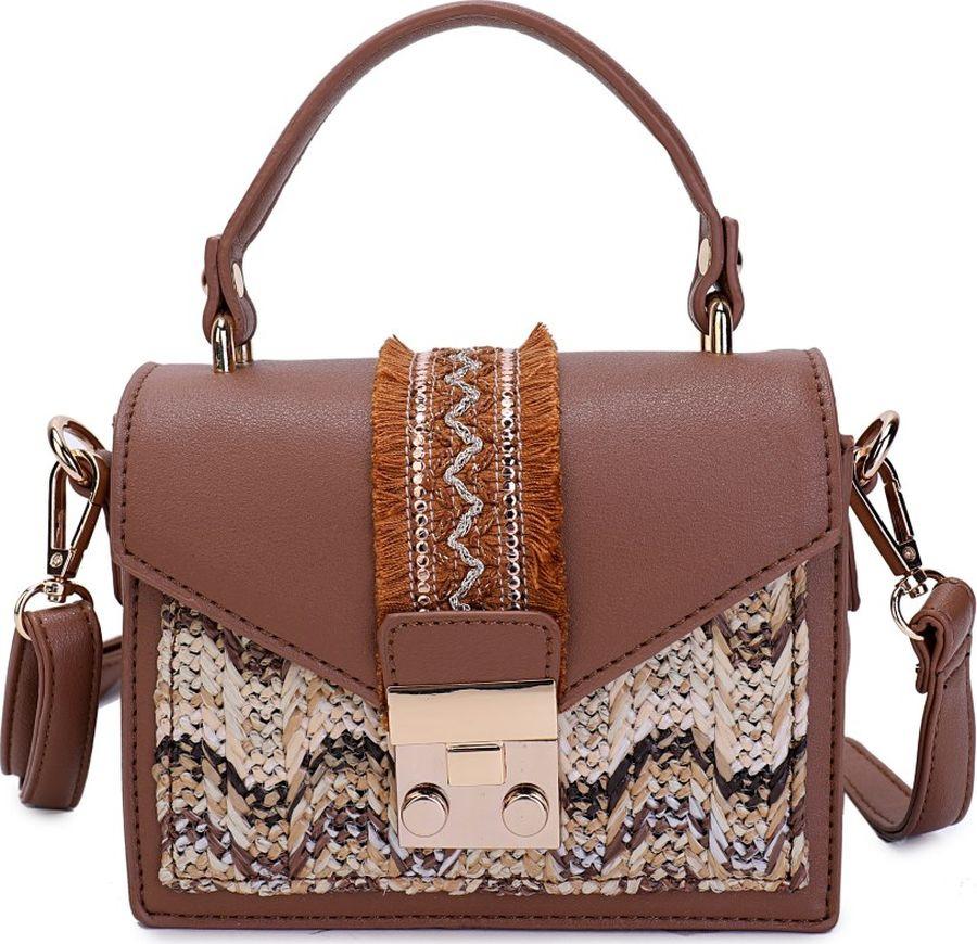 Сумка женская OrsOro, CS-952/2, коричневый сумка женская orsoro cs 952 3 белый