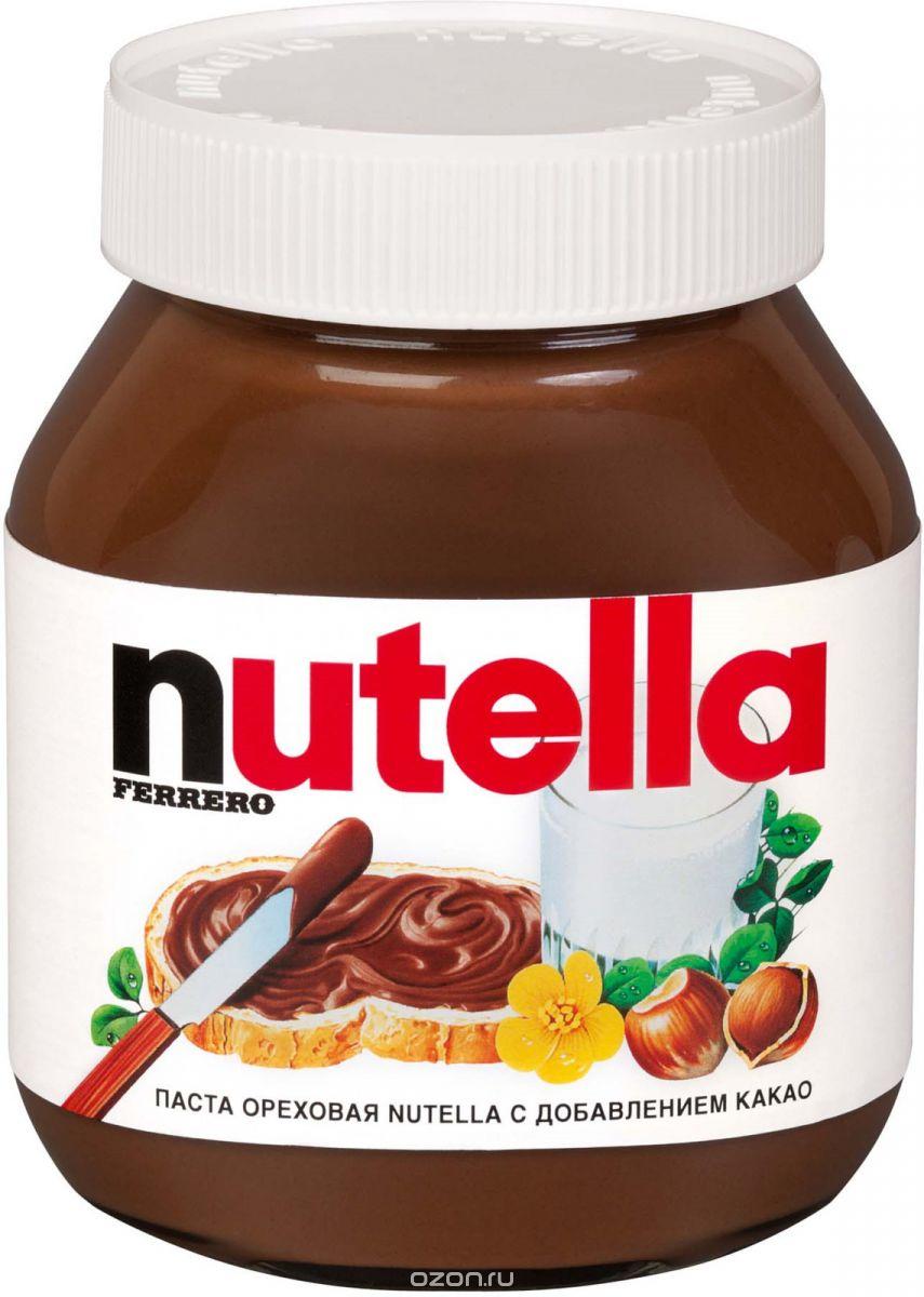 Паста ореховая Nutella с добавлением какао, 630 г шоколадная паста nutella 350г