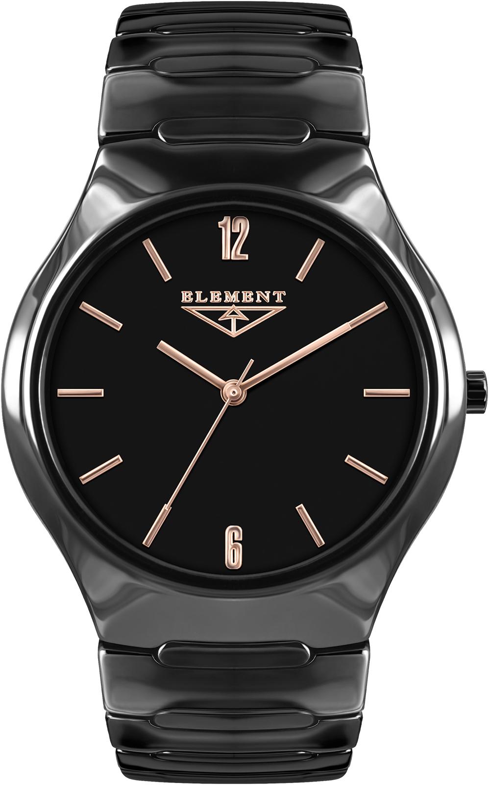 лучшая цена Часы 33 ELEMENT 331712C, черный