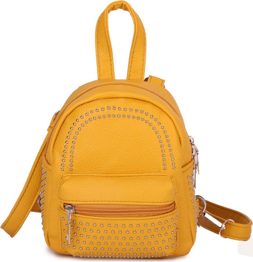 Рюкзак женский OrsOro, DS-986/2, желтый
