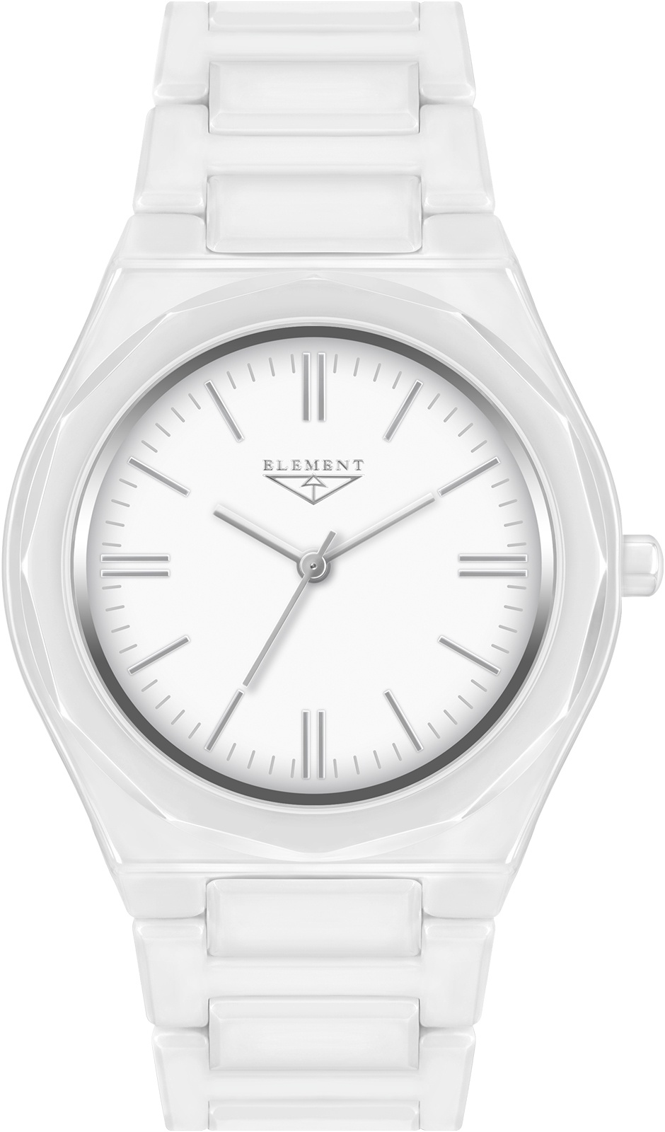 купить Часы 33 ELEMENT 331705C, белый по цене 9120 рублей