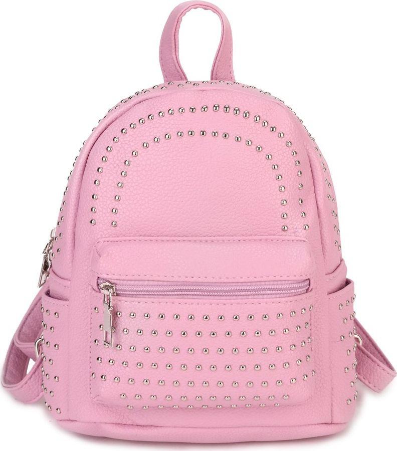 цена Рюкзак женский OrsOro, DS-985/3, розовый онлайн в 2017 году