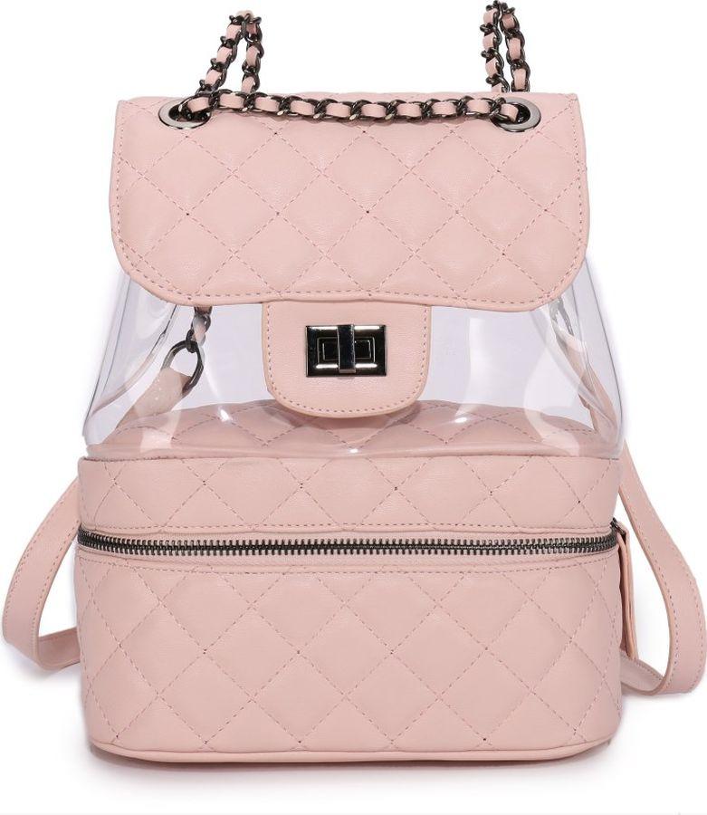 цена Рюкзак женский OrsOro, DS-9001/2, розовый онлайн в 2017 году