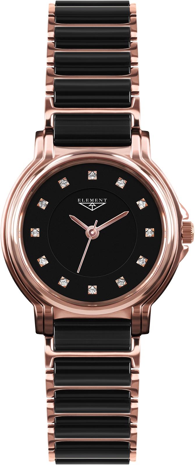лучшая цена Часы 33 ELEMENT 331407C, черный
