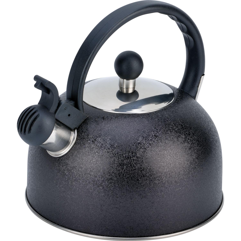 Чайник мет. со свистком BH - 9901 /2,5л/ (х12) чайник со свистком bayerhoff bh 425
