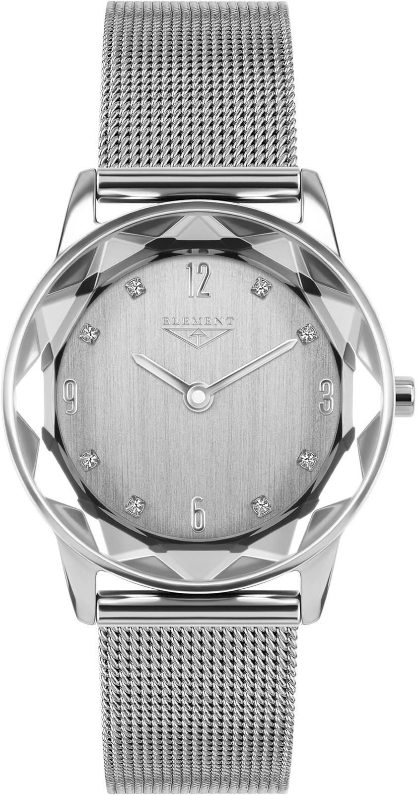 Часы 33 ELEMENT 331811, серебристый женские часы 33 element 331709c