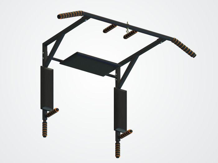 Турник СпектрСпорт Мангуст 3 в 1 облегченный, черный цена
