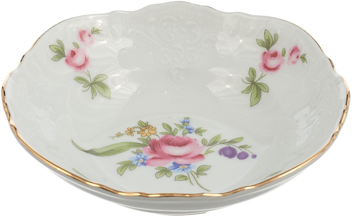 Фото - Салатник Thun 1794 a.s. Мейсенский букет, БТФ0246, диаметр 13 см салатник 23 см мейсенский цветок