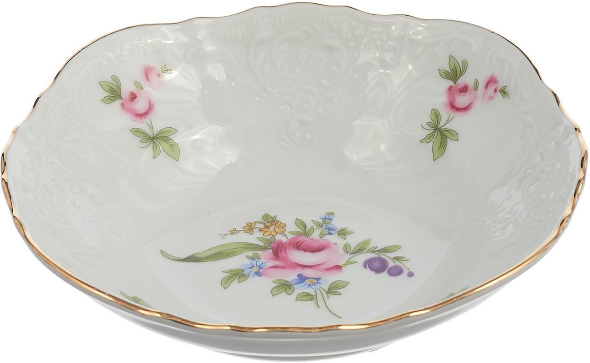 Фото - Салатник Thun 1794 a.s. Мейсенский букет, БТФ0247, диаметр 16 см салатник 23 см мейсенский цветок