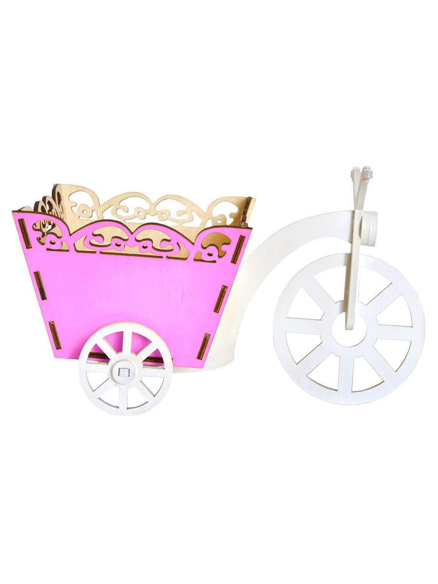 Кашпо Мастер дизайн ПДКАШ-В4, светло-розовый кашпо wonder wood серия бабочки светло розовый
