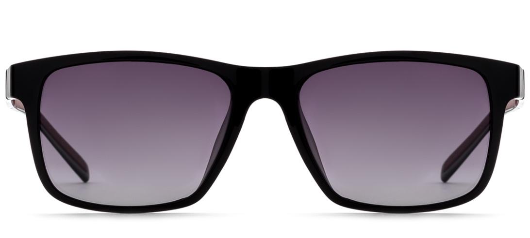 Очки солнцезащитные MONOLOOK America Квадратные черный мужские, черныйBAM0011C2