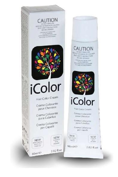 Краска для волос KayPro 1762-16801-5.231762-16801-5.23КРЕМ-КРАСКА ICOLORI — ИННОВАЦИОННЫЙ СТОЙКИЙ КРАСИТЕЛЬ с минимальным содержанием амиака. Так же содержит аргинин, применение которого в профессиональных косметических средствах направлено на расширение сосудов кожи головы, способствует улучшению кровоснабжения и общему оздоровлению волосяного покрова. После окрашивания волосы становятся более блестящими и шелковистыми, а цвет держится дольше. ПОДГОТОВИТЕЛЬНЫЕ ДЕЙСТВИЯ: перед окрашиванием волос требуется определить уровень натурального цвета волос, количество седых волос, структуру и пористость волос. Определите уровень цвета, который Вы желаете добиться. Конечный результат является плодом смешивания искусственных пигментов и натуральных пигментов волос. Последним шагом является определение процента оксиданта: 10 объемов (3%) — для затемнения на один тон и окрашивания обесцвеченных волос. 20 объемов (6%) — для окрашивания тон в тон, для окрашивания седых волос и осветления на один тон. 30 объемов (9%) — для среднего осветления (2-3 тона). 40 объемов (12%) — для