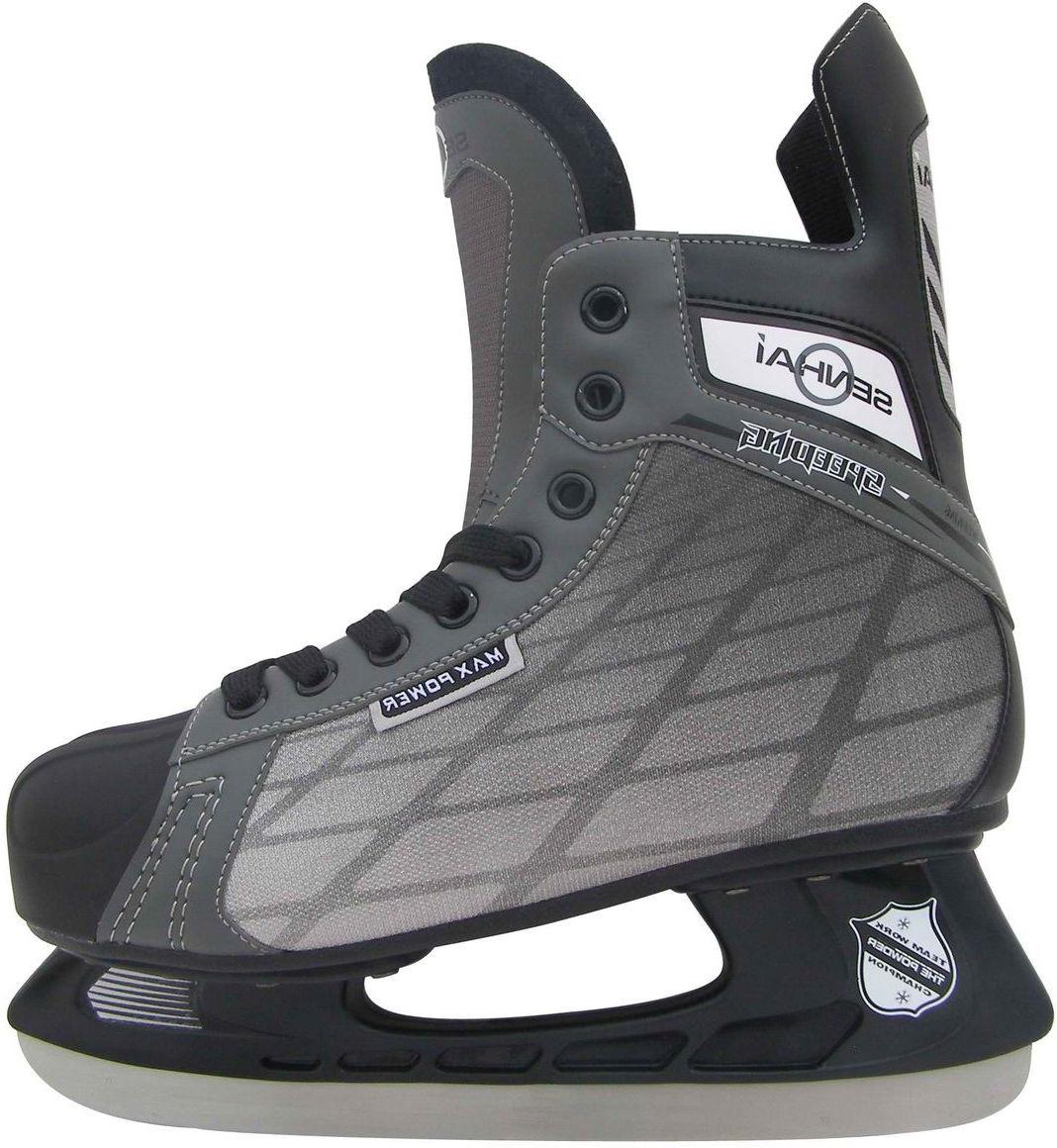 Коньки хоккейные Action коньки хоккейные мужские bauer supreme s150 цвет черный 1048623 размер 47