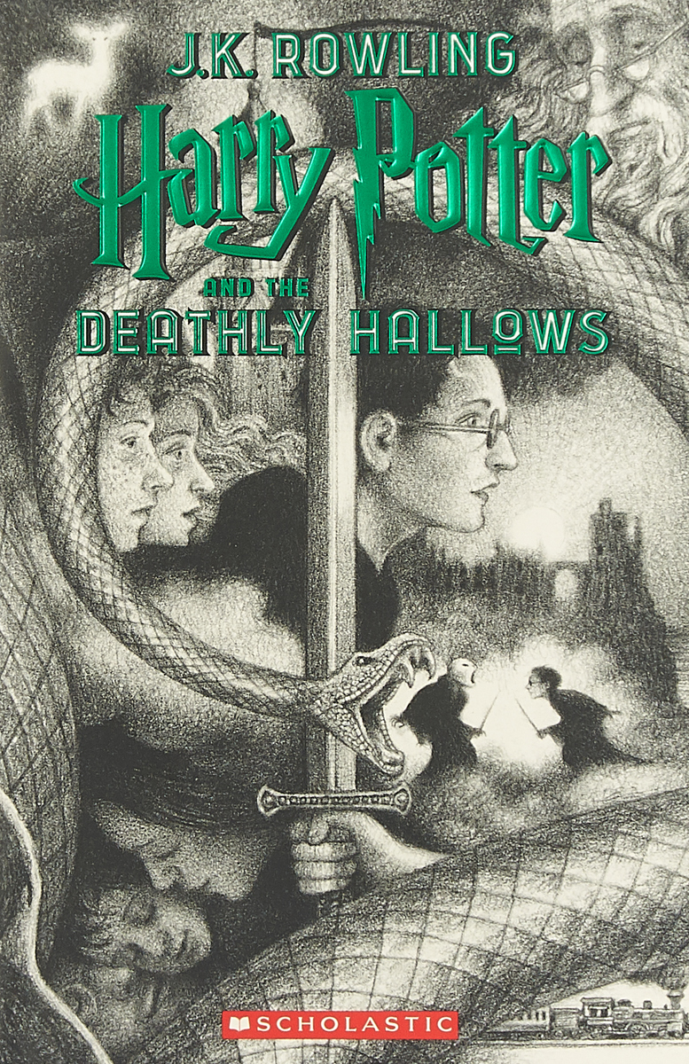 Harry Potter and the Deathly Hallows дж к роулинг harry potter and the deathly hallows